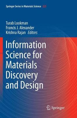 Information Science for Materials Discovery and Design - Turab Lookman