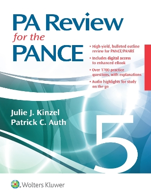 PA Review for the PANCE - Julie Kinzel