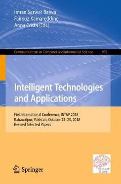 Intelligent Technologies and Applications - Imran Sarwar Bajwa