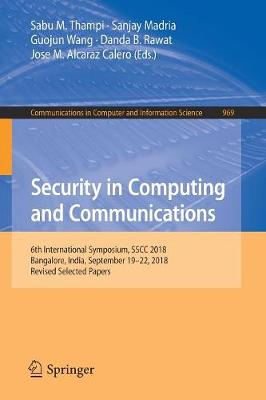 Security in Computing and Communications - Sabu M. Thampi