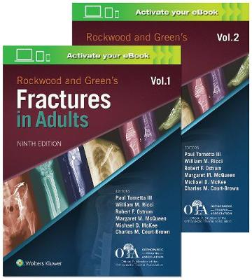 Rockwood and Green's Fractures in Adults - Dr. Paul Tornetta, III