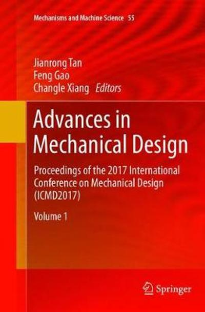 Advances in Mechanical Design - Jianrong Tan