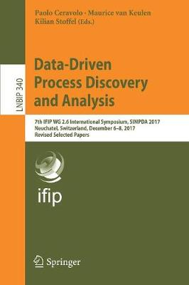 Data-Driven Process Discovery and Analysis - Paolo Ceravolo