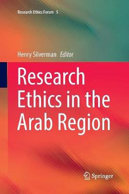 Research Ethics in the Arab Region - Henry Silverman