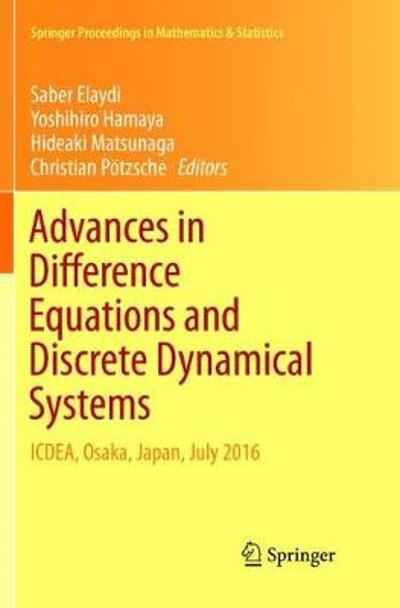 Advances in Difference Equations and Discrete Dynamical Systems - Saber Elaydi
