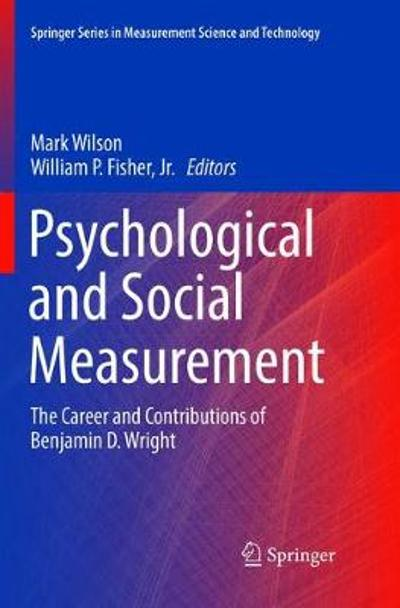 Psychological and Social Measurement - Mark Wilson