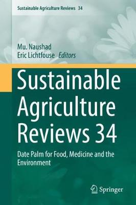 Sustainable Agriculture Reviews Volume 34 - Mu Naushad