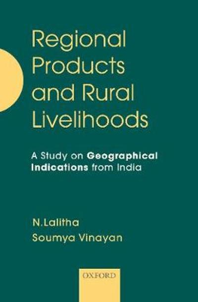Regional Products and Rural Livelihoods - N. Lalitha
