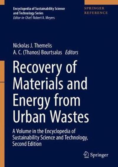 Recovery of Materials and Energy from Urban Wastes - Nickolas J. Themelis