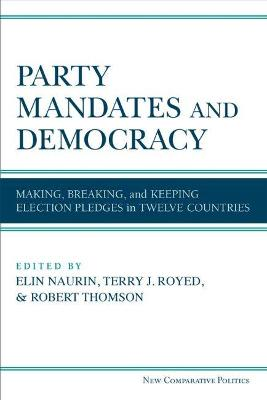 Party Mandates and Democracy - Elin Naurin