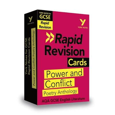 York Notes for AQA GCSE (9-1) Rapid Revision Cards: Power and Conflict AQA Poetry Anthology - Laura Burden