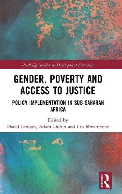Gender, Poverty and Access to Justice - David Lawson