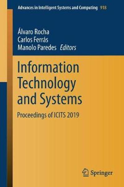 Information Technology and Systems - Alvaro Rocha