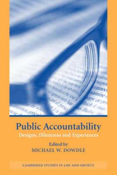 Public Accountability - Michael W. Dowdle