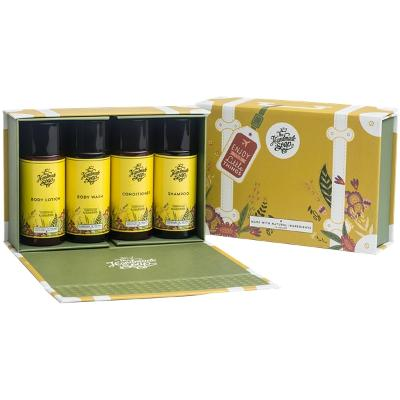 Travel Kit Lemongrass & Cedarwood - The Handmade Soap Company