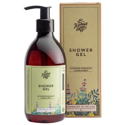 Shower Gel Lavender, Rosemary & Mint - The Handmade Soap Company