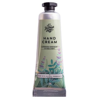 Hand Cream Tube Lavender, Rosemary & Mint - The Handmade Soap Company