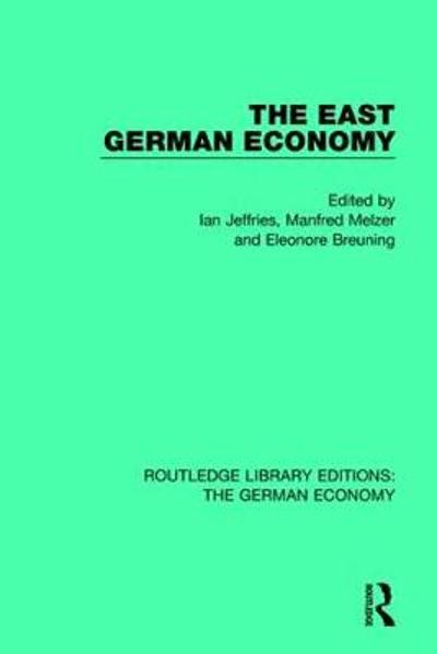 The East German Economy - Ian Jeffries