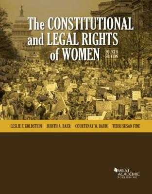 The Constitutional and Legal Rights of Women - Leslie F. Goldstein