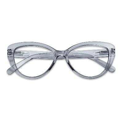 Lesebrille Cat Eye smoke +1 - Have A Look