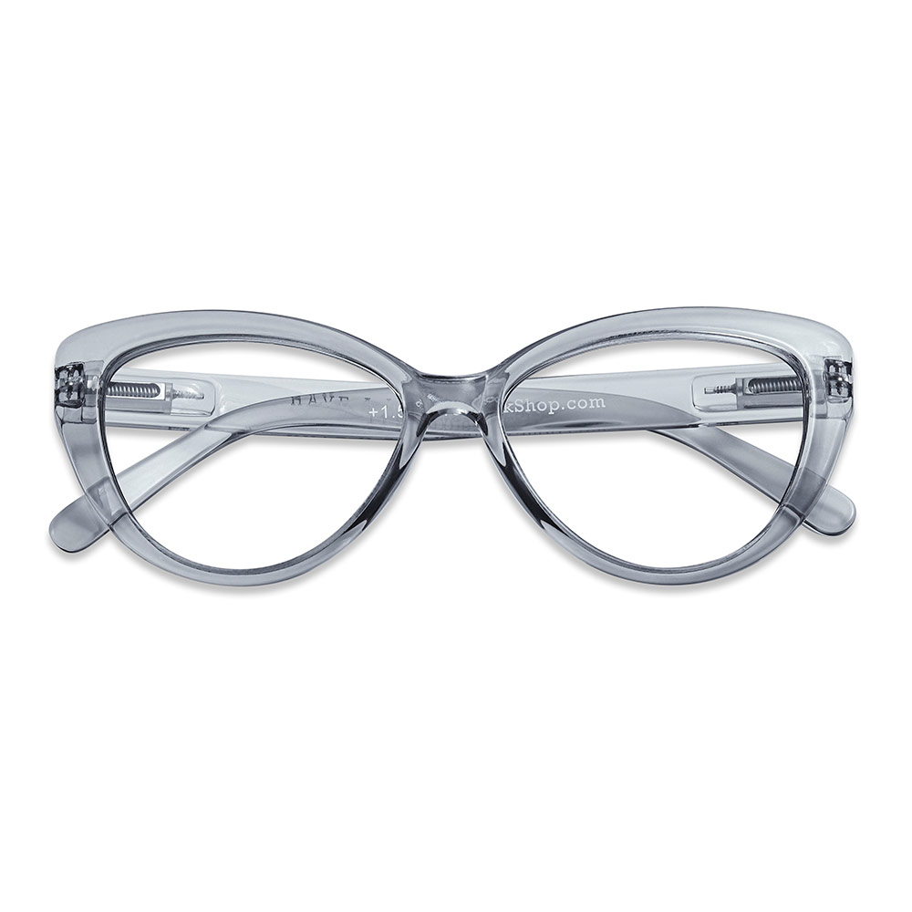 Cat Eye lesebrille smoke +1,5 - Have A Look