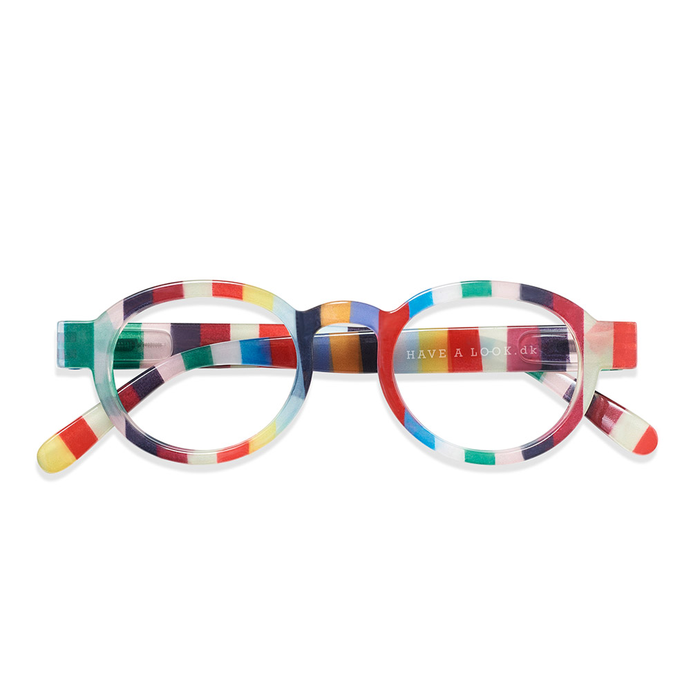 Lesebrille Circle Twist candy +2,5 - Have a Look