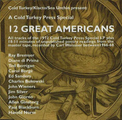 12 Great Americans CD - Carl Weissner