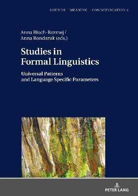 Studies in Formal Linguistics - Anna Bloch-Rozmej