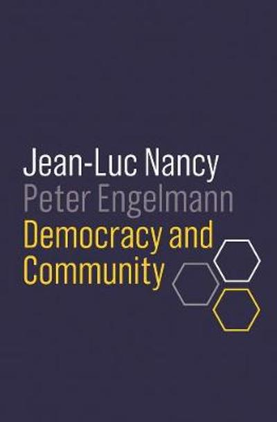 Democracy and Community - Jean-Luc Nancy