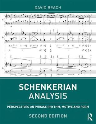 Schenkerian Analysis - David Beach