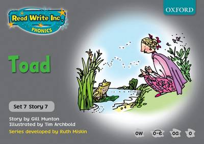 Read Write Inc. Phonics: Grey Set 7 Storybooks: Toad - Gill Munton