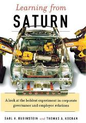 Learning From Saturn - Saul A. Rubinstein Thomas A. Kochan