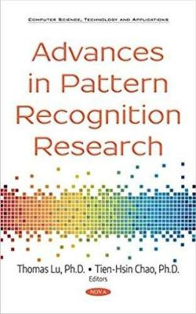 Advances in Pattern Recognition Research - Thomas Lu