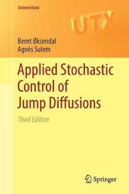 Applied Stochastic Control of Jump Diffusions - Bernt Oksendal