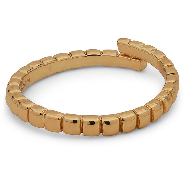 Lulu Gold Plated Stack Ring - Pilgrim