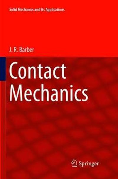 Contact Mechanics - J.R. Barber