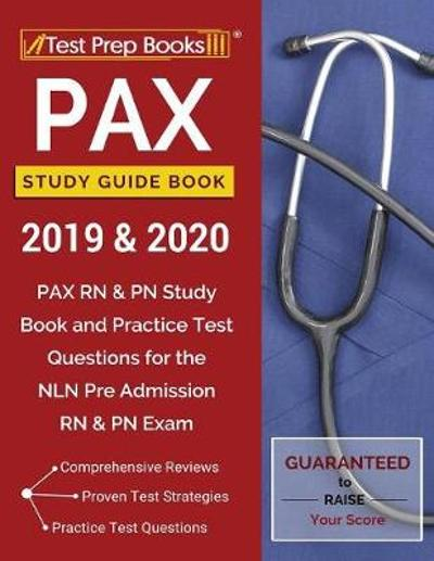 PAX Study Guide Book 2019 & 2020 - Test Prep Books