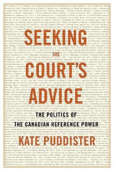 Seeking the Court's Advice - Kate Puddister