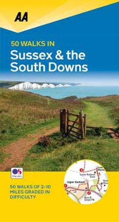 50 Walks in Sussex -