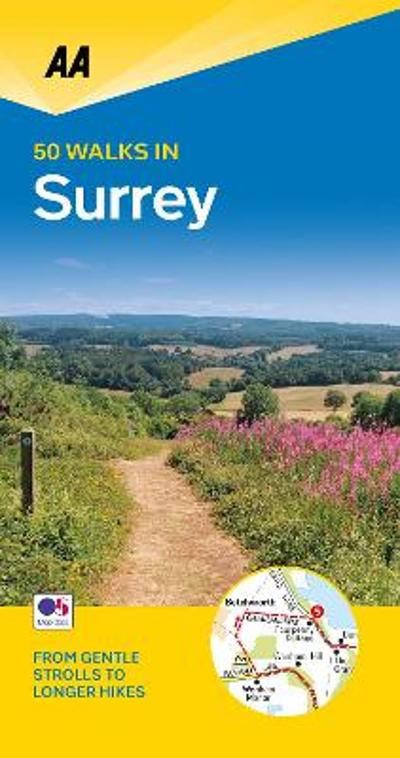 50 Walks in Surrey -