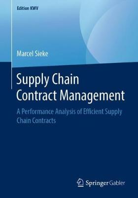 Supply Chain Contract Management - Marcel Sieke