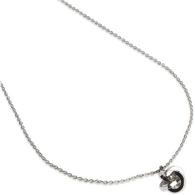 PEARLS FOR GIRLS Knot Necklace Silver - PFG Stockholm