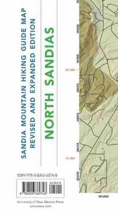 Sandia Mountain Hiking Guide Map, Revised and Expanded Edition - Mike Coltrin