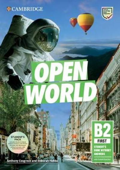 Open World First Student's Book Pack (SB wo Answers w Online Practice and WB wo Answers w Audio Download) - Anthony Cosgrove