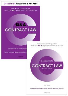 Contract Law Revision Concentrate Pack - Jill Poole