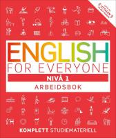 English for everyone - Thomas Booth Tim Bowen Susan Barduhn Edwood Burn Marie Lexow