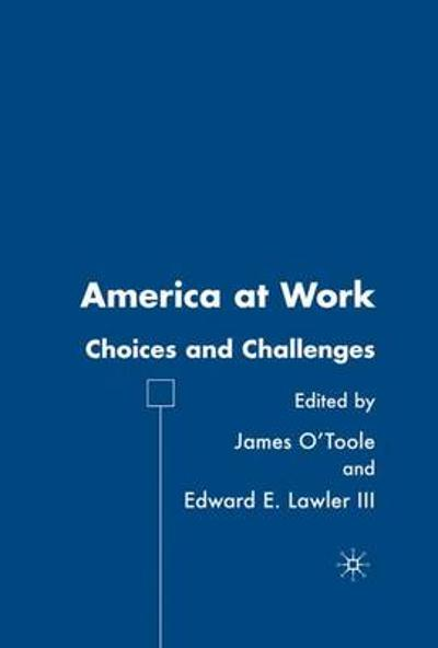 America at Work - J. O'Toole