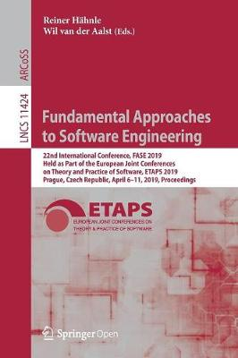 Fundamental Approaches to Software Engineering - Reiner Hahnle