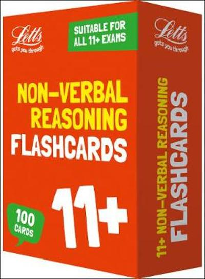11+ Non-Verbal Reasoning Flashcards - Letts 11+