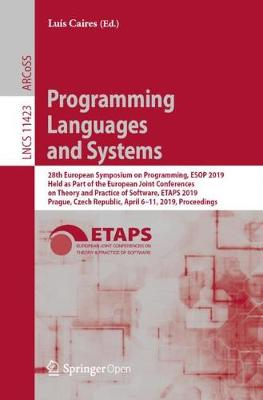 Programming Languages and Systems - Luis Caires